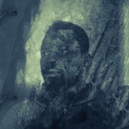 Guet Ndaru Mool VII - Size: 50 x 50 cm. Price € 295.00