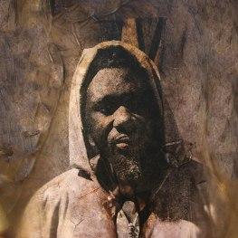 Guet Ndaru Mool V - Size: 50 x 50 cm. Price € 350.00