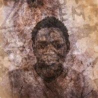 Guet Ndaru Mool VI - Size: 50 x 50 cm. Price € 295.00