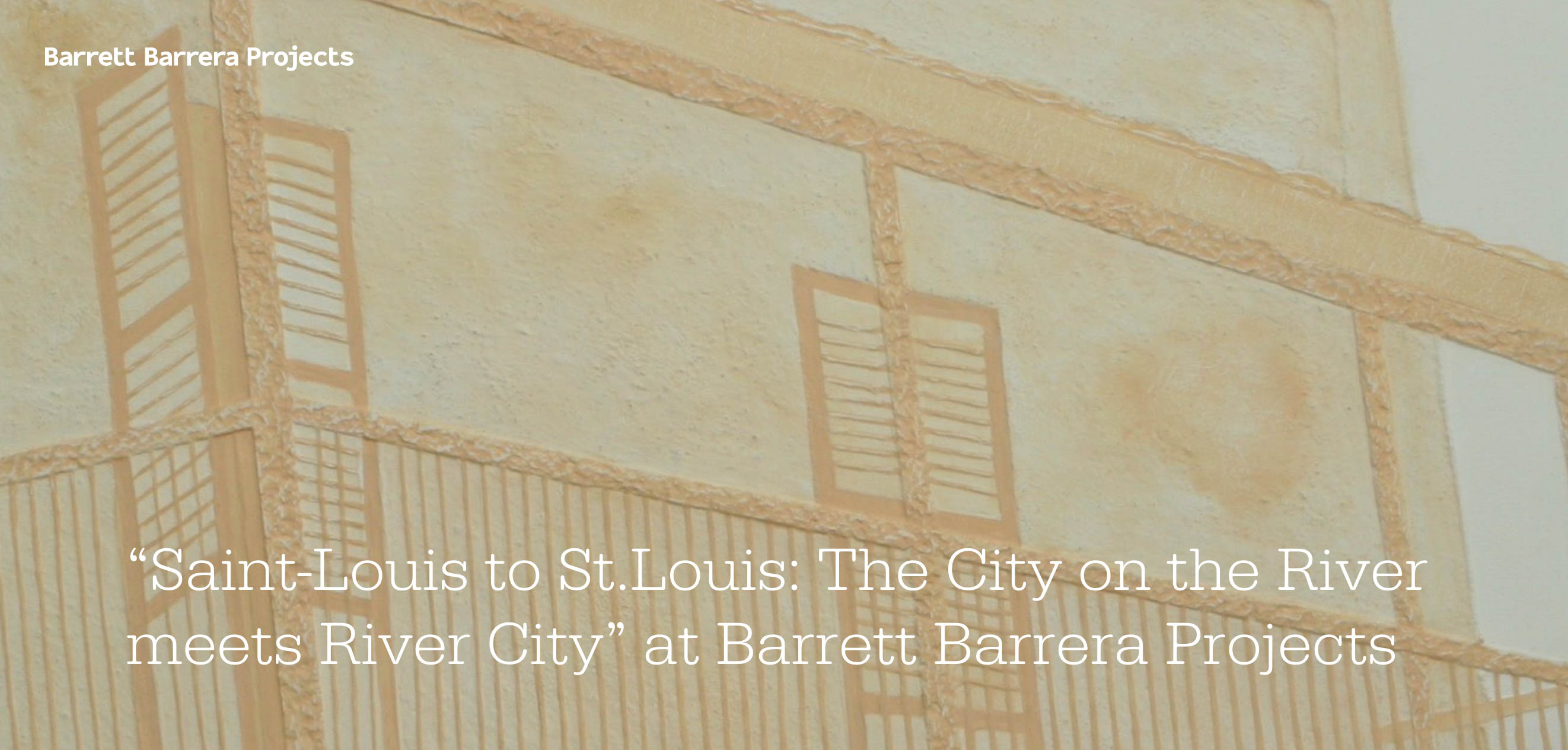 BarrettBarrera poster